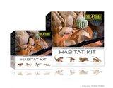 Exo Terra Habitat Kit Desert  Terrarium Medium_
