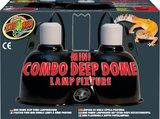 Zoo Med Mini Combo Deep Dome Lamp Fixture_
