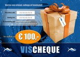 VisCheques - Hengelsport cadeaubon t.w.v. € 100,00_