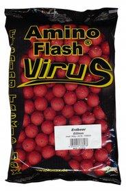 Amino Flash Aardbei boilies 20mm