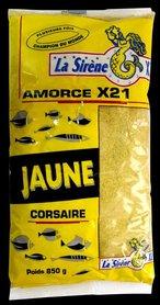 X21 lokvoer geel