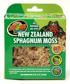 Zoo Med New Zealand Moss (sphagnum moss) 150 Gram