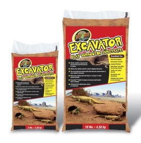 Zoo Med Excavator Clay Burrowing Substrate 4,5 Kilo