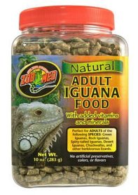 Zoo Med Natural Adult Iguana Food 22,7 Kilo