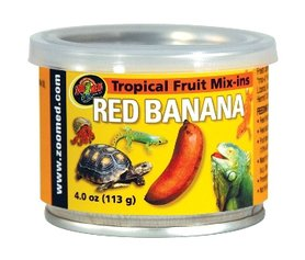 Zoo Med Tropical Fruit Mix Red Banana