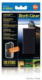 Exo Terra Replacement Fine Foam Filter voor repti clear F250