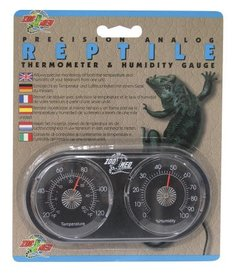 Zoo Med Precision Analog Thermometer & Humidity Gauge