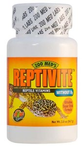 Zoo Med Reptivite zonder D3 Vitaminen 57 Gram