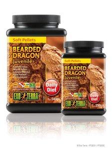 Exo Terra Young Bearded Dragon Soft Pellets 540 gram