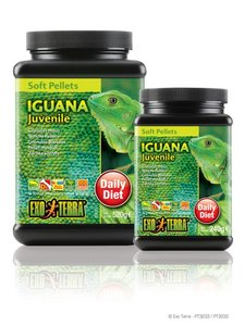 Exo Terra Iguana Soft Pellets Juvenile 240 gram