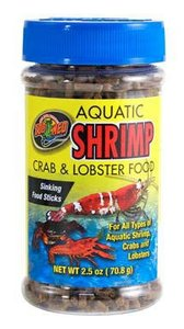 Zoo Med Aquatic Shrimp Crab Lobster Food