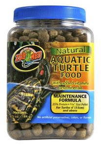 Zoo Med Natural Aquatic Turtle Food Maintenance 340 Gram