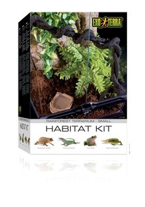 Exo Terra Habitat Terrarium Kit Rainforest Small