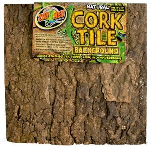 Zoo Med Natural Cork Tile 45 x 61 cm