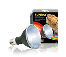 Exo Terra Sunray Metal Hide lamp 70 watt