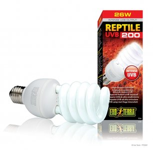 Exo Terra UVB 200 lamp 26 watt