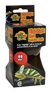 Zoo Med Nightlight Red Reptile Bulb 25 Watt